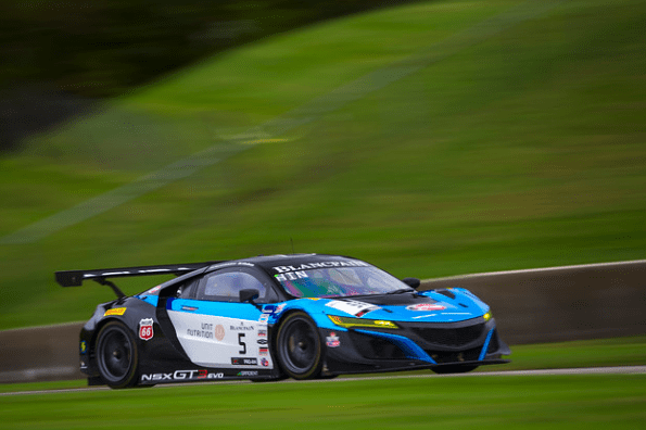 NSX GT3 Evo. Source Gradient Racing
