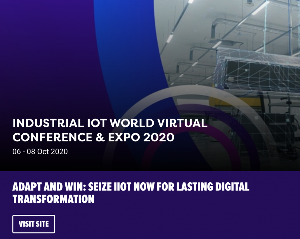 Industrial IoT World Virtual Conference & Expo 2020