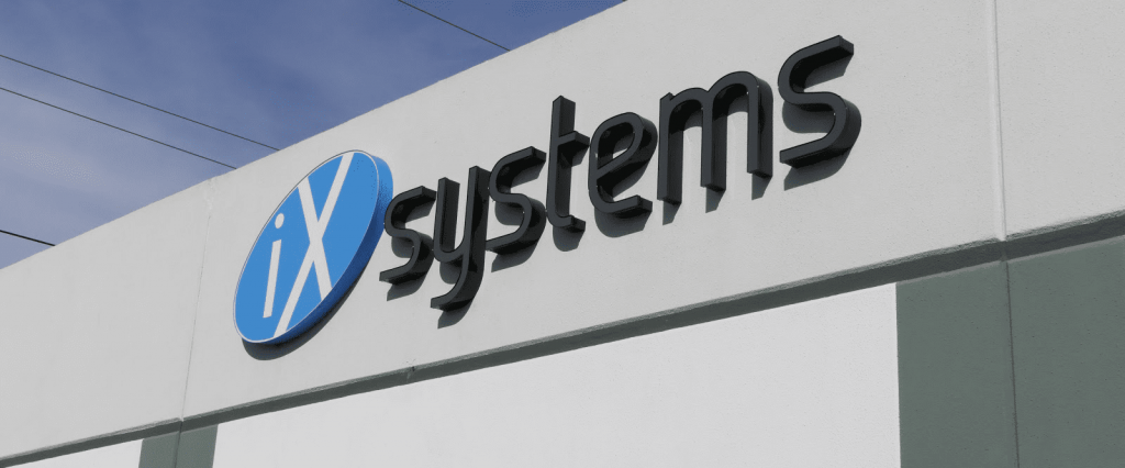 iXsystems offers TrueNAS storage for branch office edge