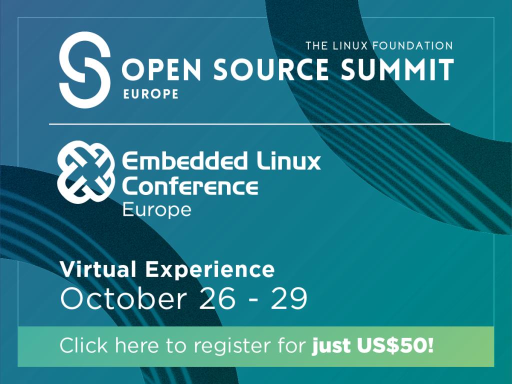 Open Source Summit Europe 2020