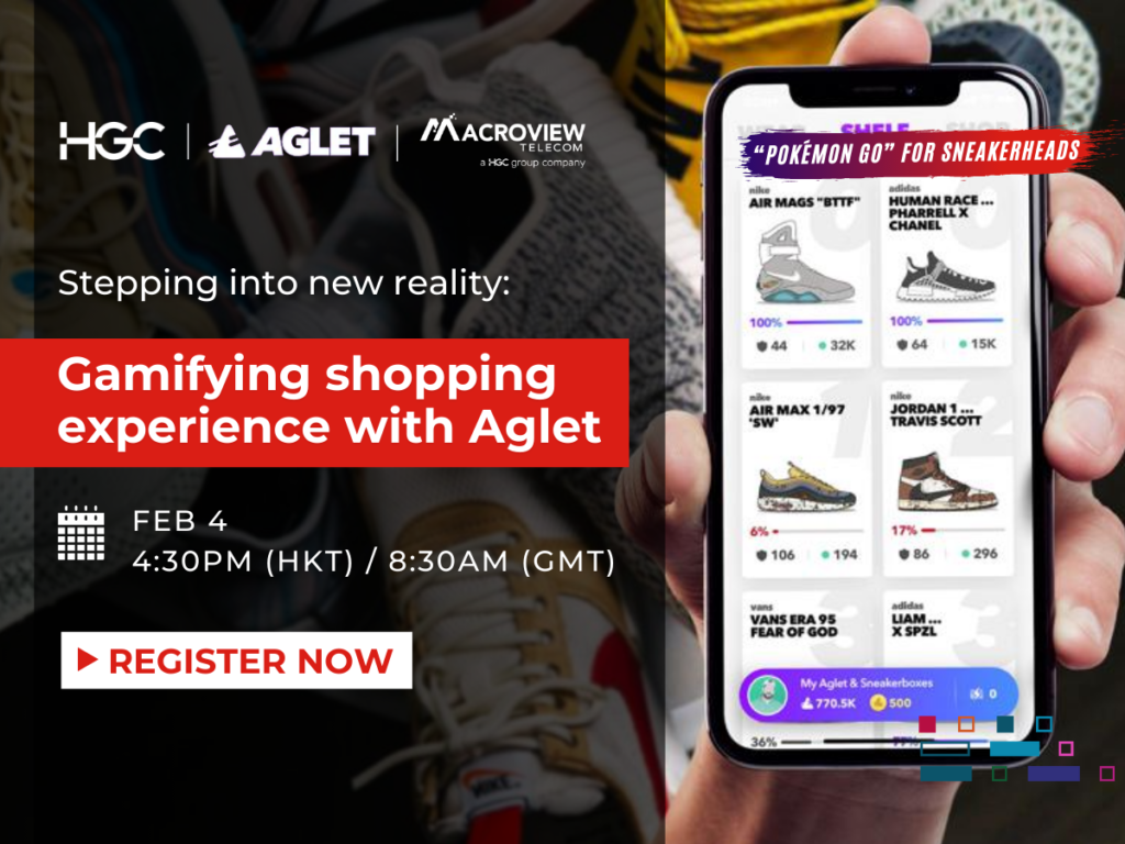 Webinar: Stepping into new reality:  Gamifying shopping experience with Aglet