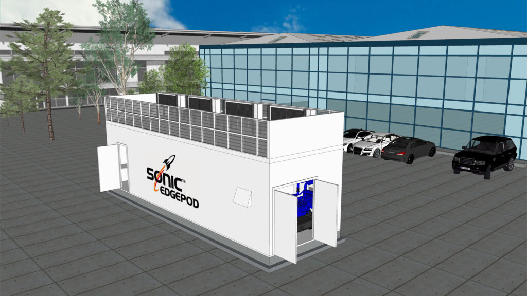 Sonic the EdgePod: UK's Sonic Edge launches new micro data centers for edge computing