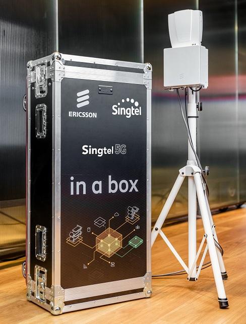 Singtel GENIE portable 5G platform