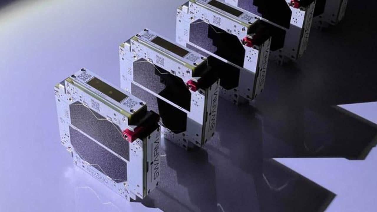 Swarm's nano-satellites