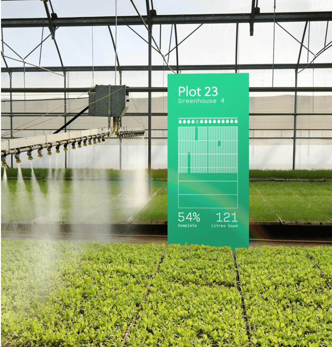 A depiction of automated irrigation systems from Agulus. Source - Helium
