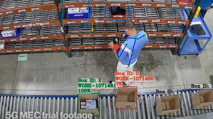 Using computer vision to ensure products are properly packed - Verizon, Ice Mobility